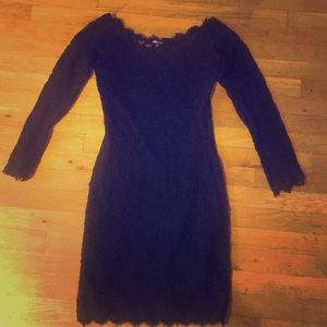 Black lace dress! Perfect for Halloween!